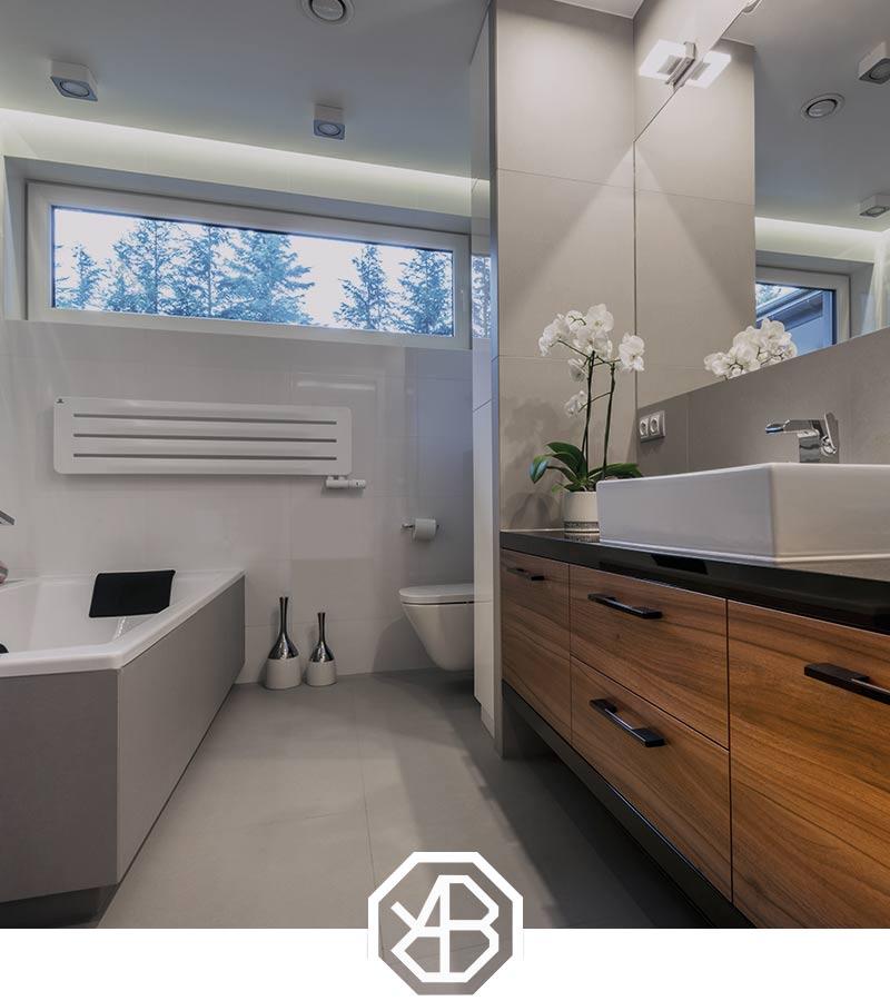 Badkamer verbouwen door de installateur uit Schipluiden
